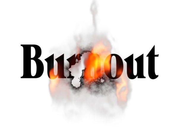 #burnout izgaranje ko je prvi na meti