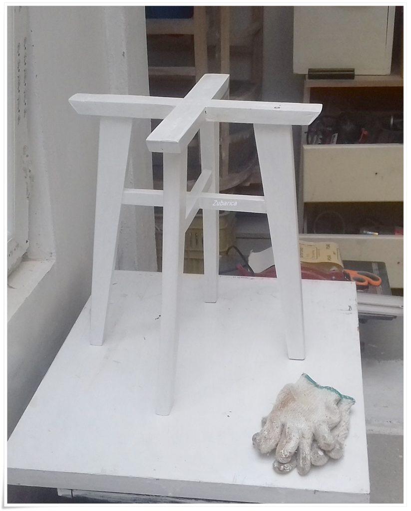 noge stolice hrastovina